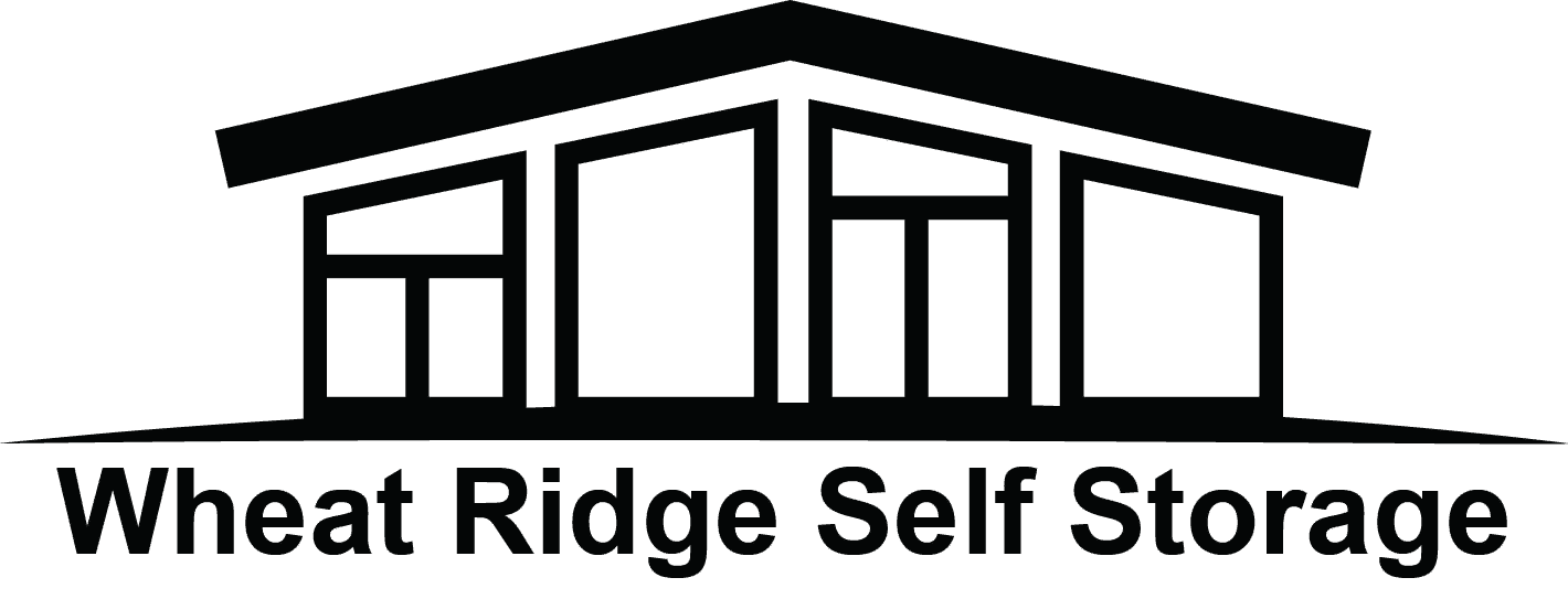 Black Wheat Ridge Self Storage Logo